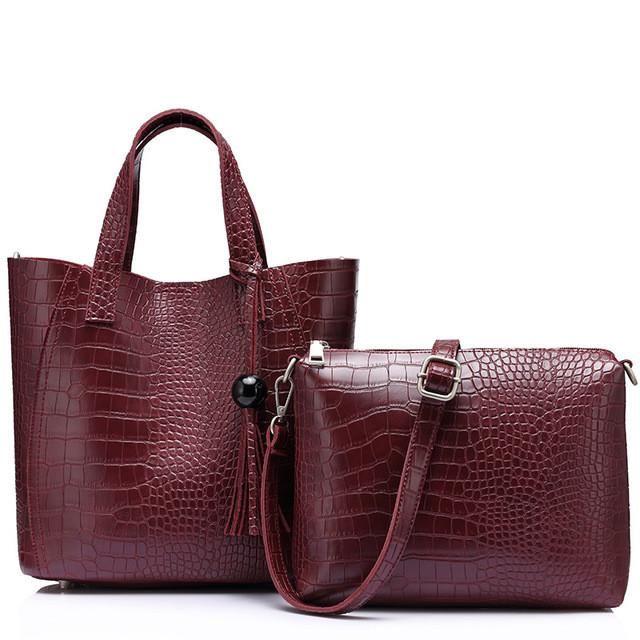 Tassel Serpentine Handbag