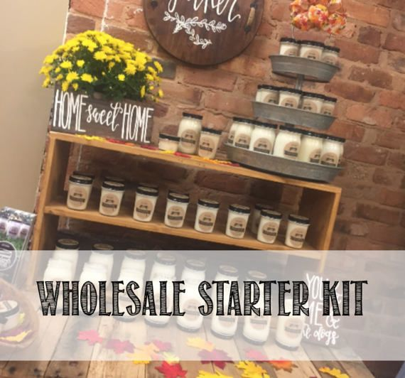 Wholesale Candle Starter Kit Soy Candles