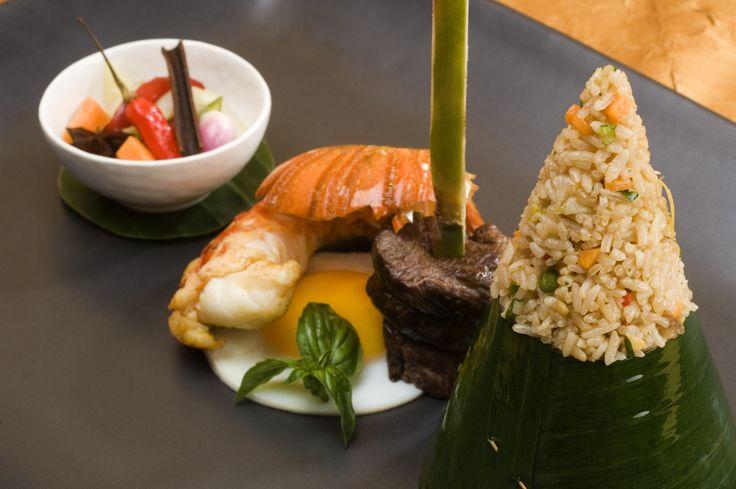 The Ultimate Nasi Goreng. Enjoy your lunch in Bali. #bulgarihotel #Bali