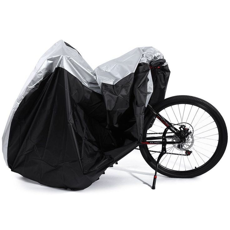 Utility Dual Bike Cover Dual 2 Bike Bicycle Scooter Waterproof Rain Dust Snow Sun Cover Storage bag from Rain Dust