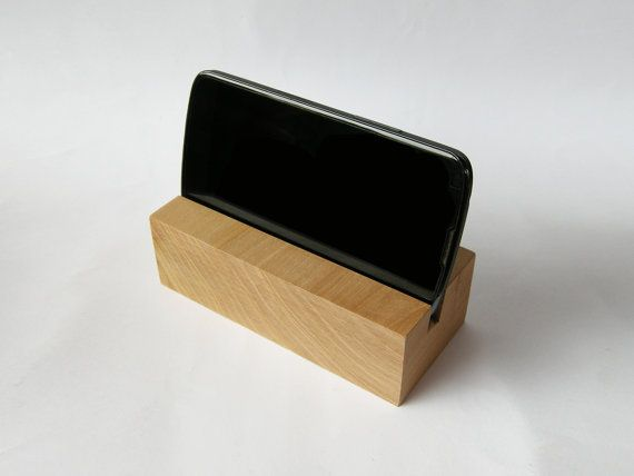 iPhone stand. Wooden iPhone Stand. iPhone wood dock by Magowood
