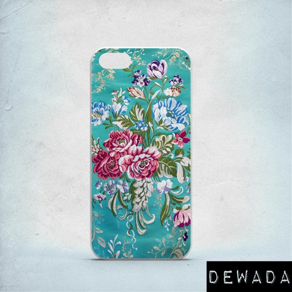 Floral phone case iPhone 7 case by DeWadaSTORE