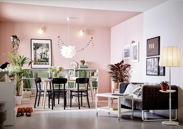 Parfois il suffit de peu de choses pour donner du caractère à une pièce. Un meuble hors du commun, un luminaire XXL ou une couche de peinture audacieuse. La couleurreste le moyen le plus efficace, le plus simple et le moins cher d'apporter une touche d'originalité et de marquer les esprits. La preuve par dix. // Photo de Une : Ikea