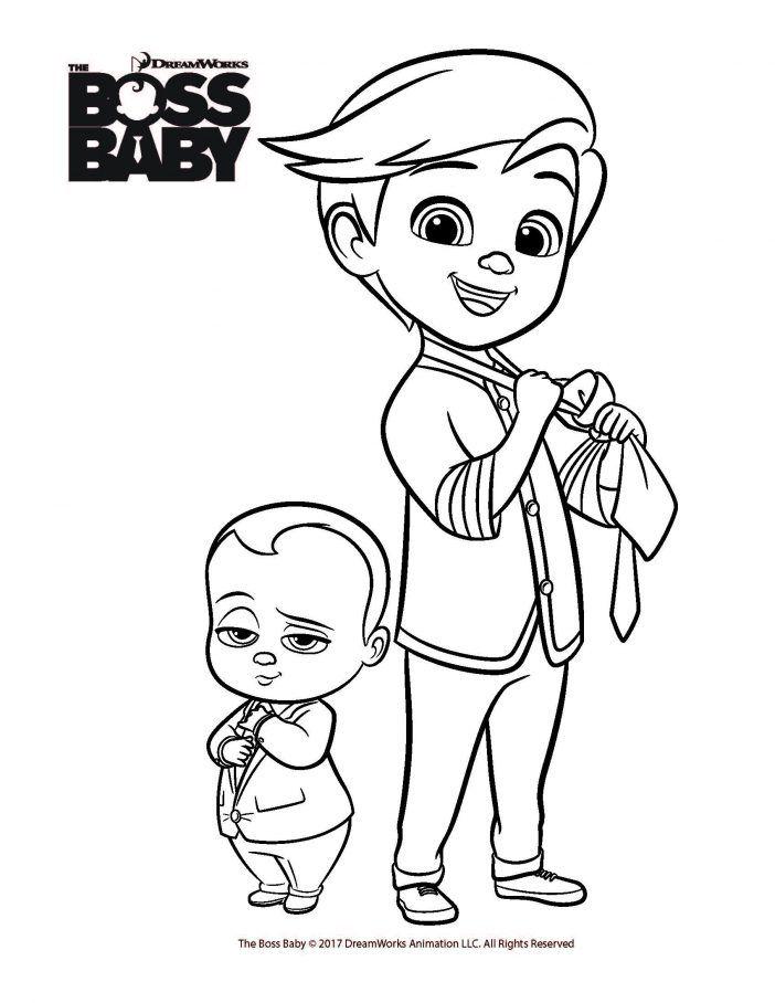 Boss Baby printable