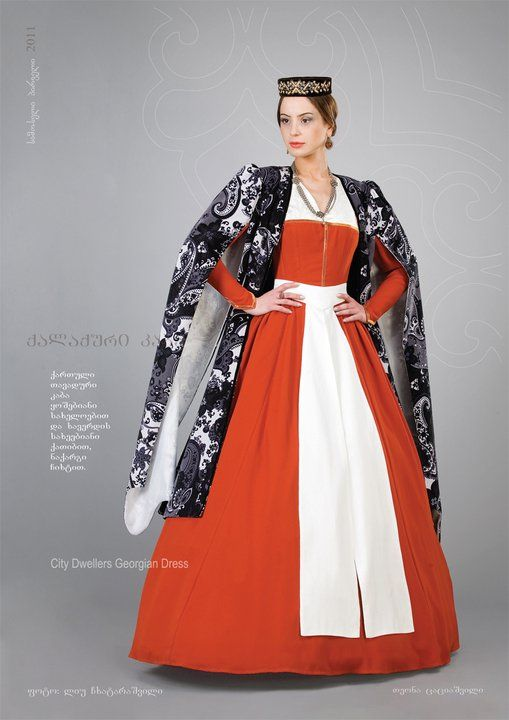 23 best images about Georgian national clothes reconstructed by ...