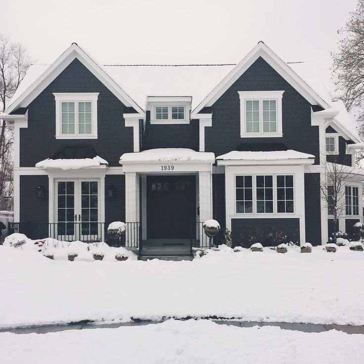 """9,590 Likes, 60 Comments - Becki Owens (@beckiowens) on Instagram: """"Another one from driving around this morning in the snow!  We actually took a shot of this home in…"""""""