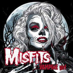 Misfits - Vampire Girl - B/W Color Vinyl Single