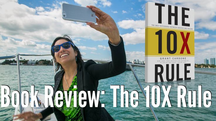 I made this video book review a few months ago, enjoy it! http://carolinamillan.net/book-review-the-10x-rule-by-grant-cardone/