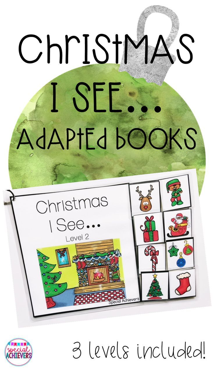 Christmas I See… Adapted Books