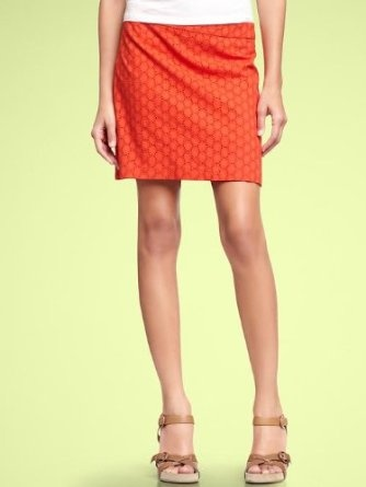 Gap Eyelet Mini Skirt. Just got this in both colors and am obsessed!!