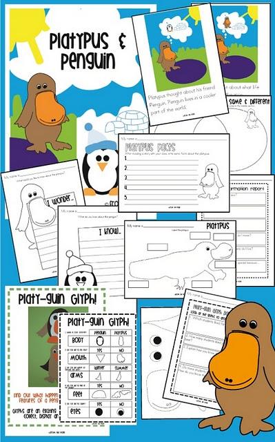 Penguin & Platypus!