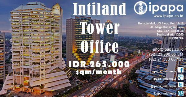 Ingin memiliki kantor di Intiland Tower? Kunjungi link berikut ini http://ipapa.co.id/building/detail/intiland-tower-115 #ipapa #ipapaindonesia #ipapapromotion #officespace #officerent #sewaoffice #sewakantor #officejakarta #kantorjakarta