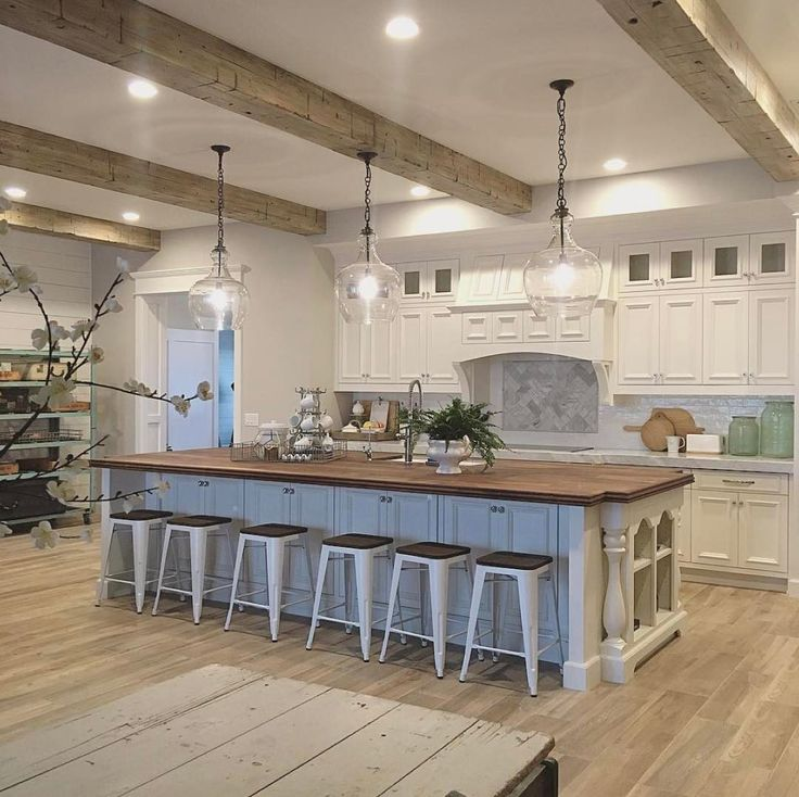Kitchen Island Lighting High Ceilings: Best 25+ Exposed Beams Ideas On Pinterest