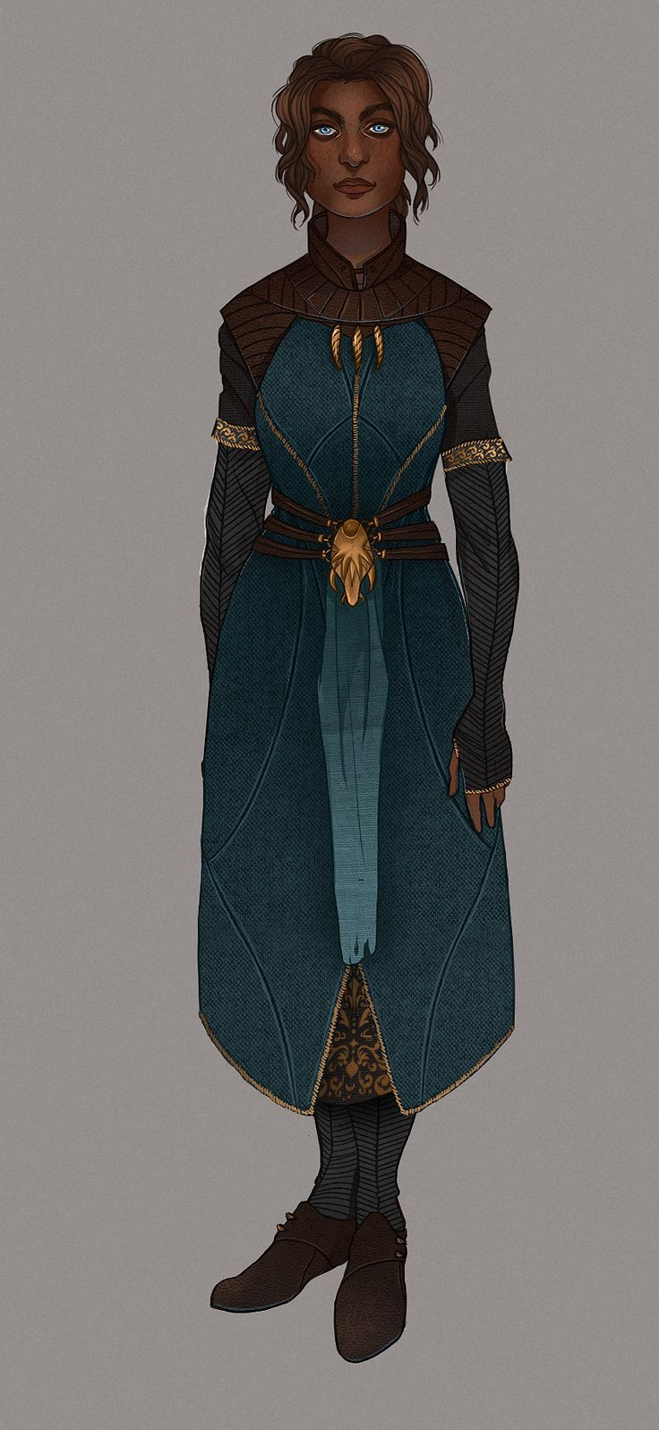 This Outfit Would Be Common Of An Emphithe Scholar Or High