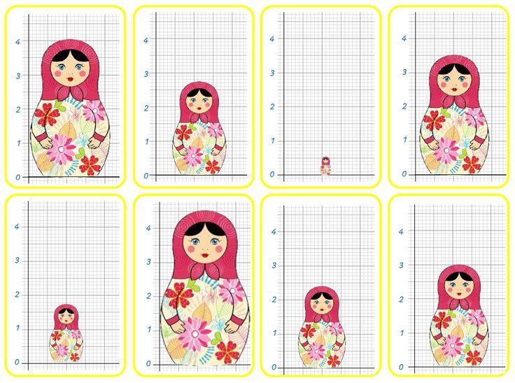 la Fouine en clis - jeu cartes mesure longueurs, cm et mm, images et écritures associées
