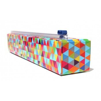 Chic Wrap Shrink Wrap Dispenser in Triangles: 9905