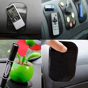Sticky Mat Anti Slip Pad Car Dash For Mobile Cell Phone GPS Radar Detector New