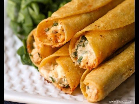 How to make Cream Cheese and Chicken Taquitos