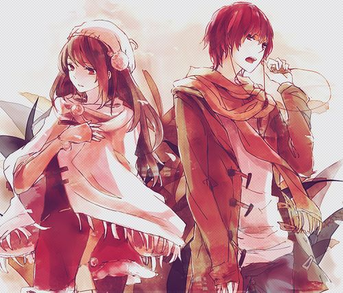 Anime couples holding hands tumblr google search anime - Cute anime couple pictures ...