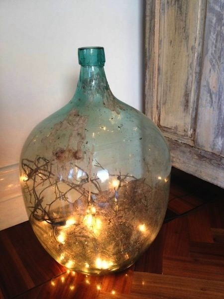 Images about decorating and uses for demijohns on