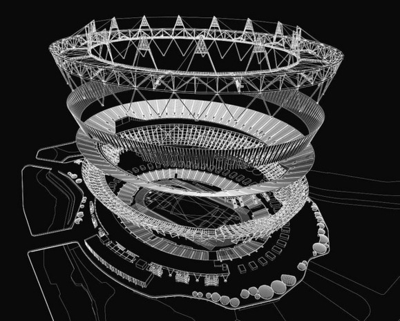 Bird's Nest Stadium, Beijing.