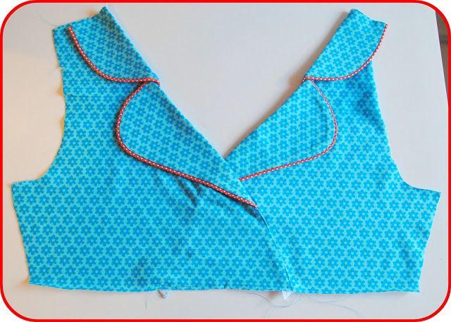 handleiding kraag tricot kleedje - MyMy-børnetøj - samt andre sysler: DIY...jersey kjole