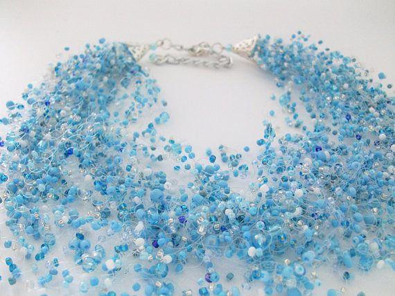 Air Necklace season: my Blue Air Necklace