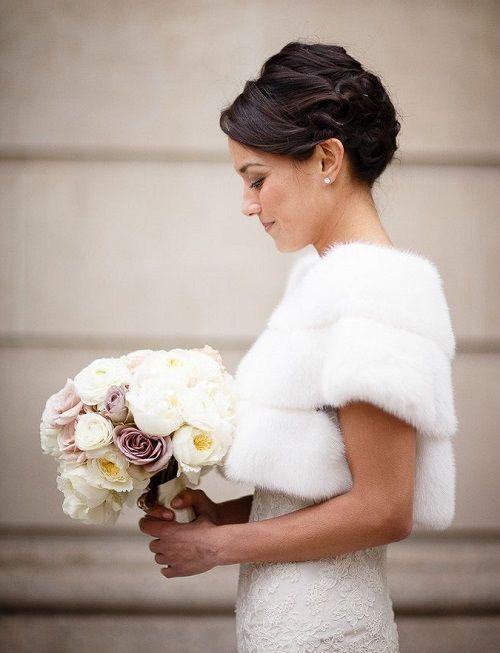 Шуба для невесты
