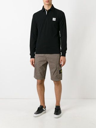 Stone Island patch pocket shorts