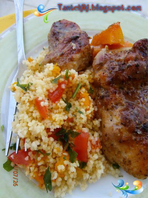 Tante Kiki: Ψητό κοτόπουλο με μέλι και μουστάρδα παρέα με αρωμ...