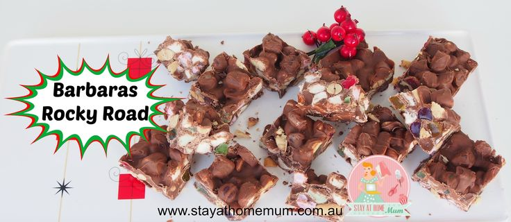 Barbara's Rocky Road | Stay at Home Mum