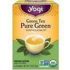 Yogi Pure Green Tea 16 Tea Bags Pack of 6 (96 Tea Bags)
