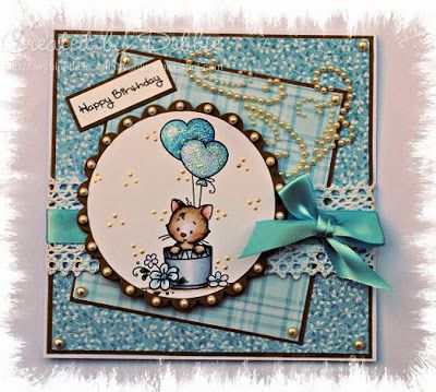 beautiful card love the layout and the gorgeous Hobby House Topper and embellishments
