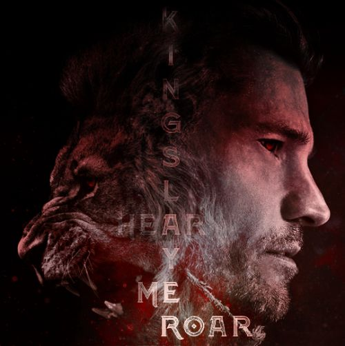 """hardlyfatal: """"Rolling Stone - We've got the scoop on the the album cover for Kingslayer's first album following the injury ending singer Jaime Lannister's tenure as the group's rhythm guitarist! He might no longer have an ax to grind, but his vocals..."""