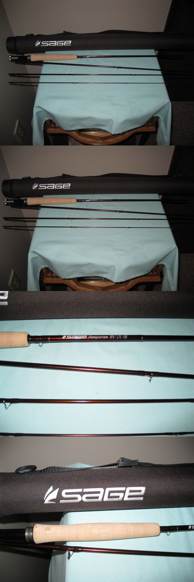 Fly Fishing Rods 23819: Sage Response 586-4 86 5Wt. 4Pc. Fly Fishing Rod - New BUY IT NOW ONLY: $325.0