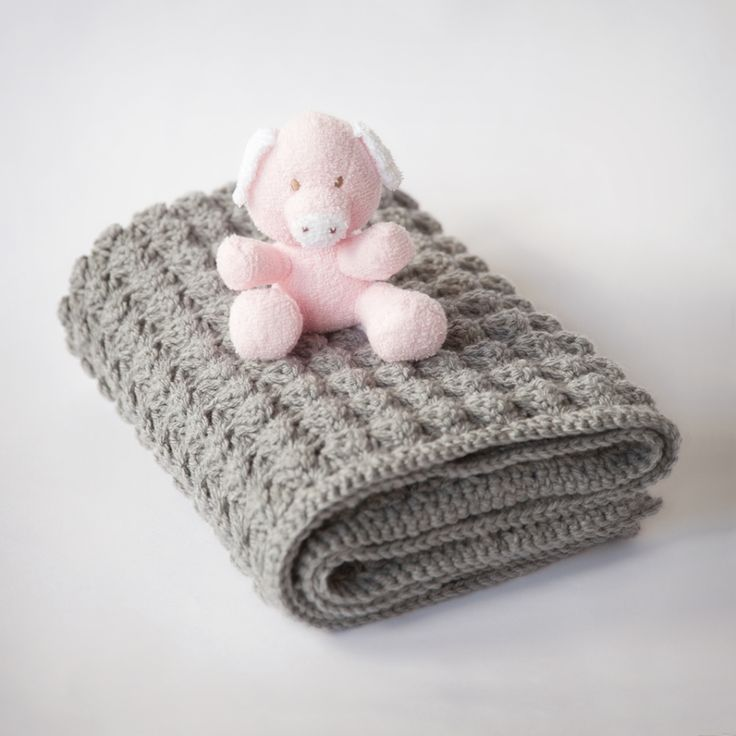 Free Baby Blanket Crochet Pattern                                                                                                                                                      More