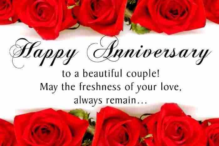 20 Best Marriage Anniversary SMS Messages Wishes in Hindi English