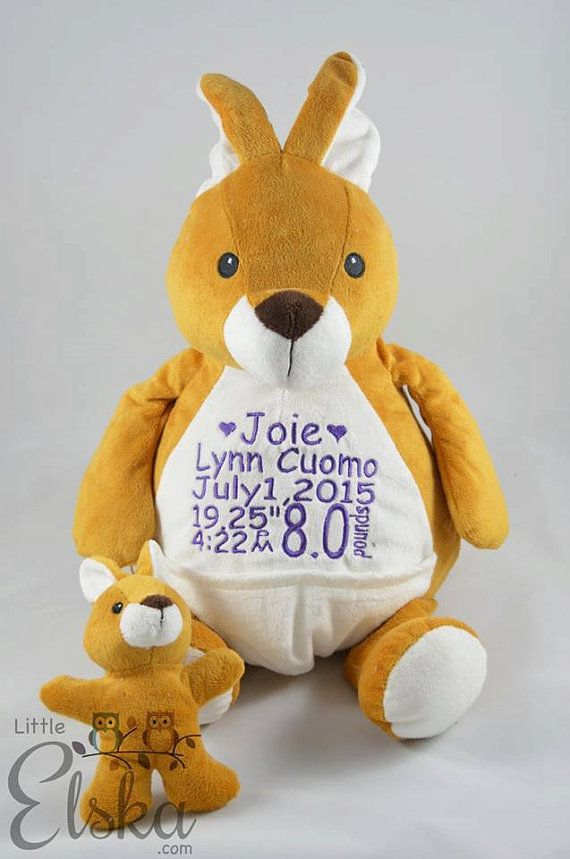 This sweet stuffed animal can be personalized for any occasion, for any age! Makes