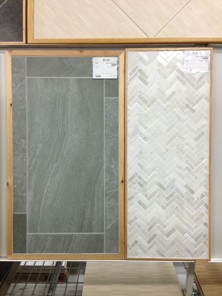 More Tile Room Plans Amp A New Door Herringbone Shops