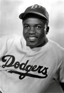 "A Moment In Black History  Jack Roosevelt ""Jackie"" Robinson (January 31, 1919 - October 24, 1972); A baseball player who became the first African-American to play in Major League Baseball. He was an athlete, business executive, and civil rights leader."