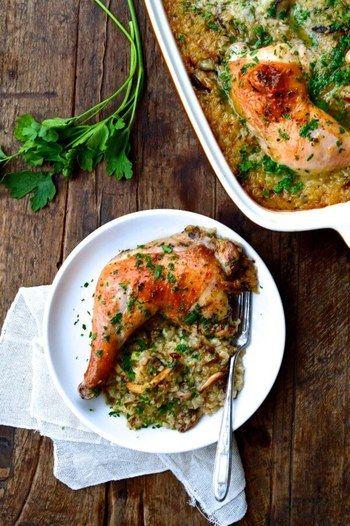 メインディッシュをオーブン料理や煮込み料理にすると、作っている間に他のことができるのでおすすめです。