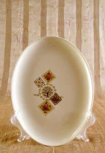 Taylor Smith and Taylor Brocatelle 11 Inch Oval Serving