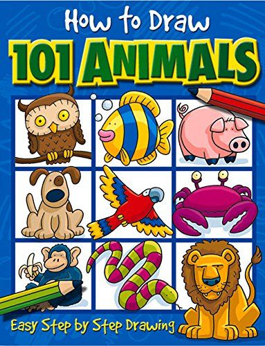 How to Draw 101 Animals by Dan Green