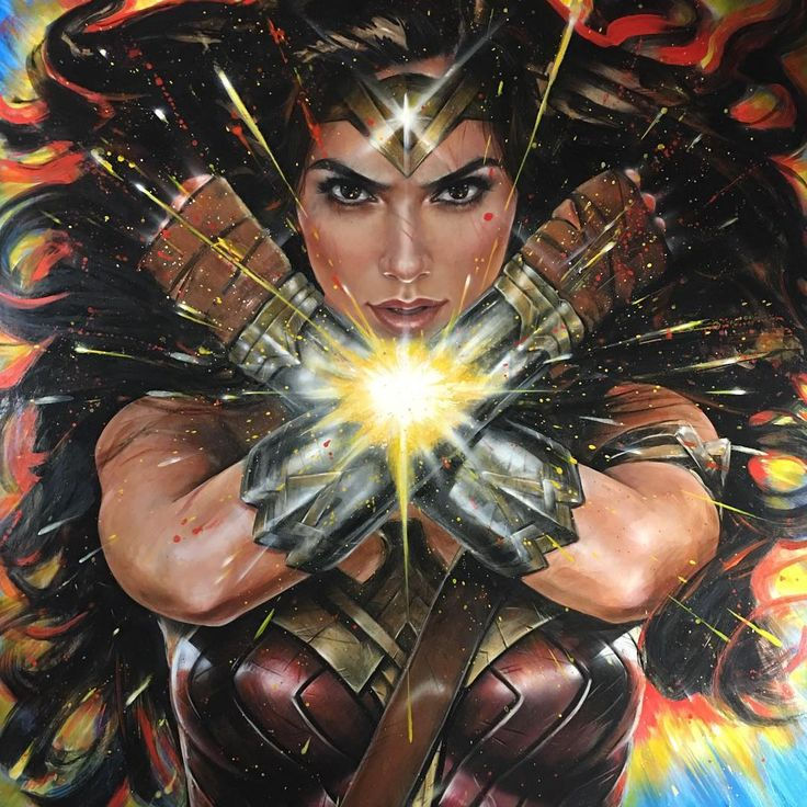 Wonder Woman by Olivia De Berardinis
