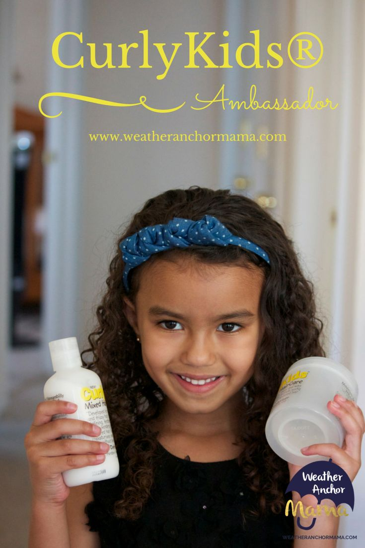 Mixed Hair Care: Meet CurlyKids® New York Ambassador. Tips for taking care of curly biracial hair.