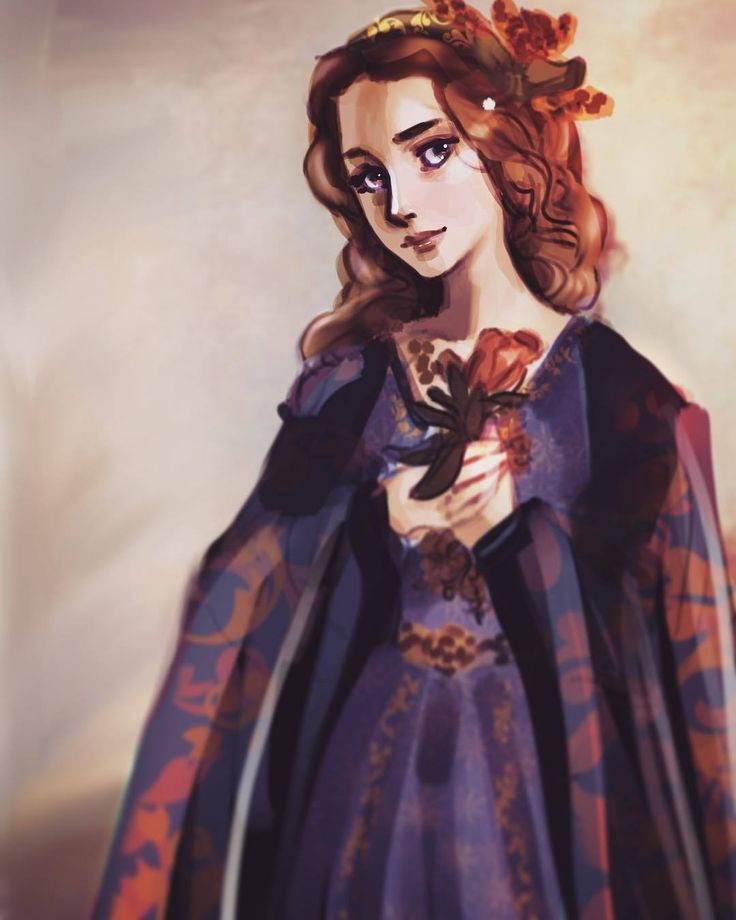 "animatewithsincerity: ""Margery Tyrell #gameofthrones #margery #margerytyrell #tyrell #rose #growingstrong #gameofthronesart #gameofthronesfanart #got #gots7 #gotart #gotfanart #gotfanart_ #myart #flower #portraitpainting #portrait..."