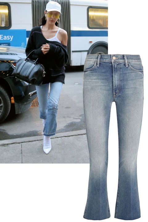 All of the denim trends you need to know now: Flare factor