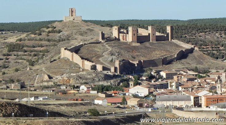 Viajero de la Historia: Molina de Aragón, ciudad fortaleza. Vistas de Molina de Aragón y su castillo.