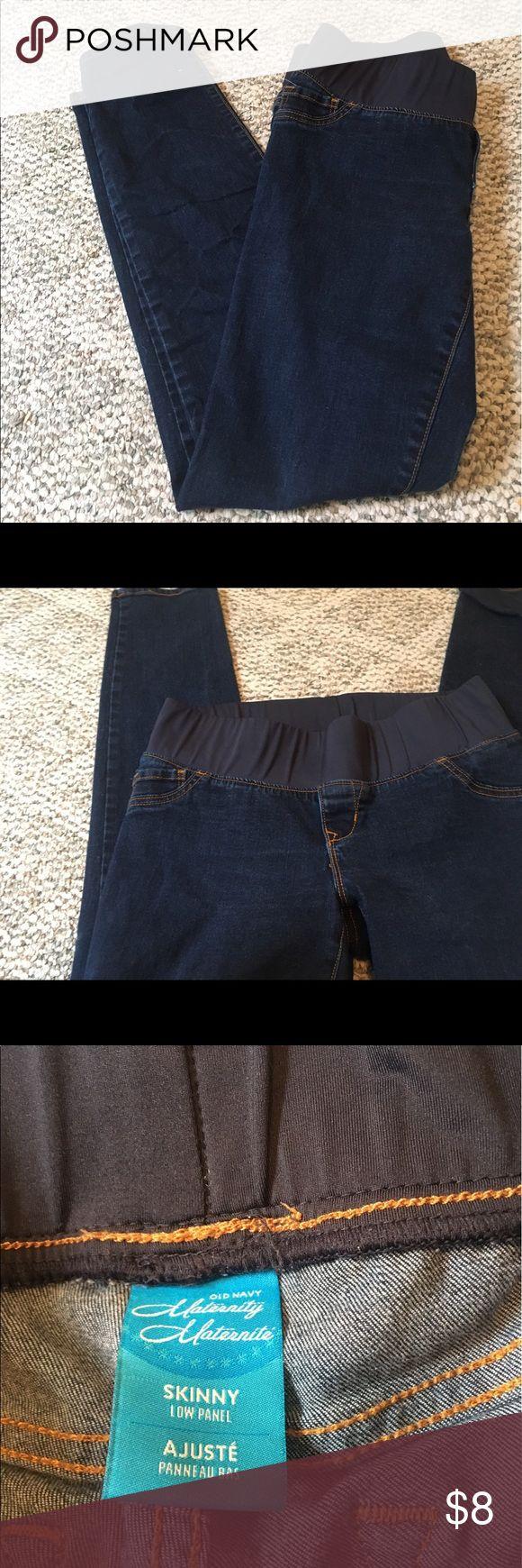 Maternity Jeans Old navy maternity jeans, size 8. Old Navy Jeans Skinny