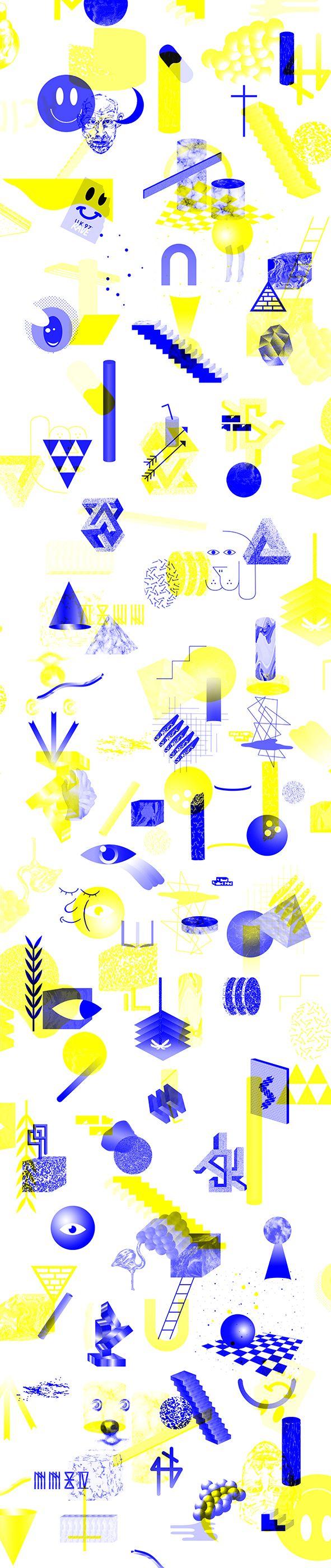 /Fragments on Behance